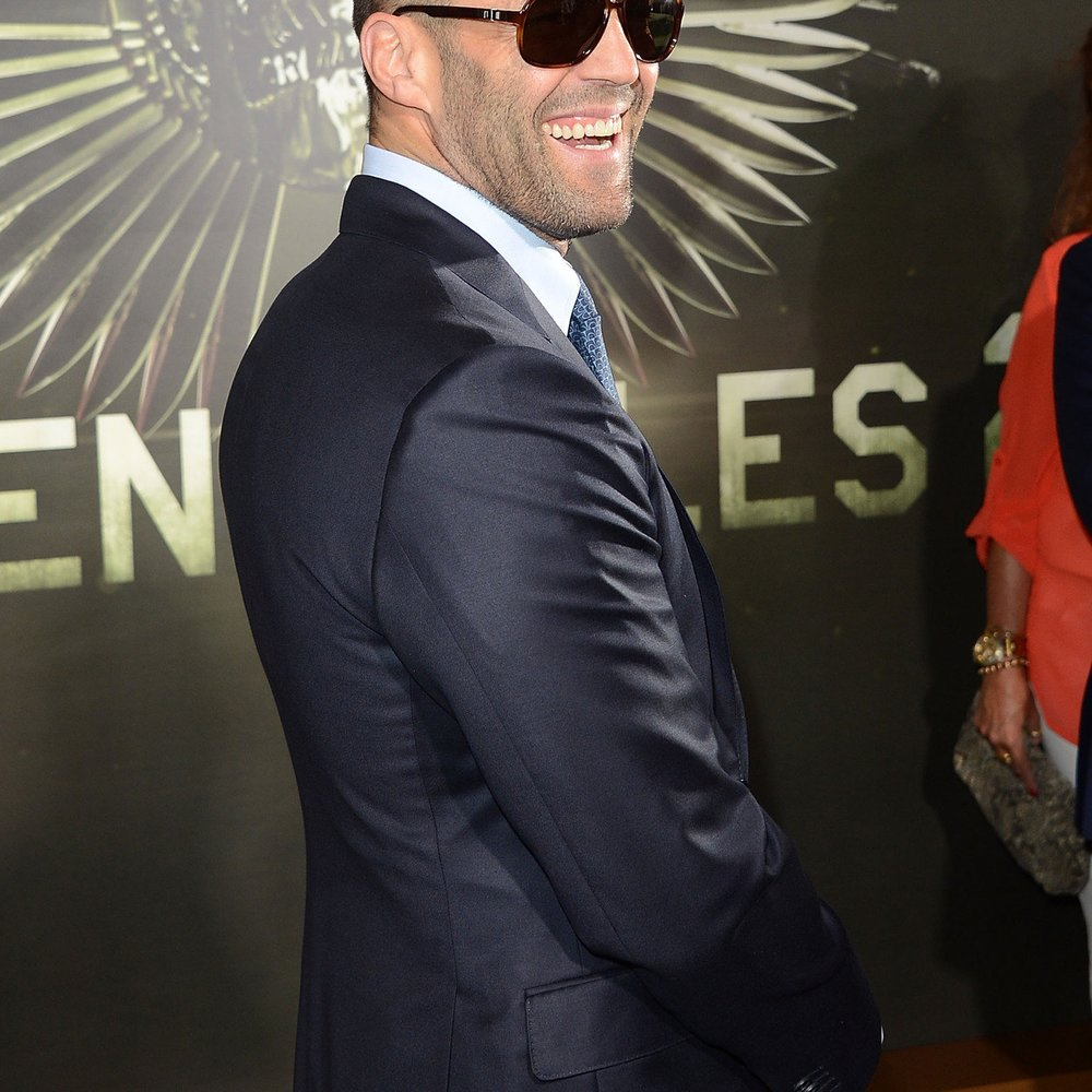 Jason Statham dealte in London