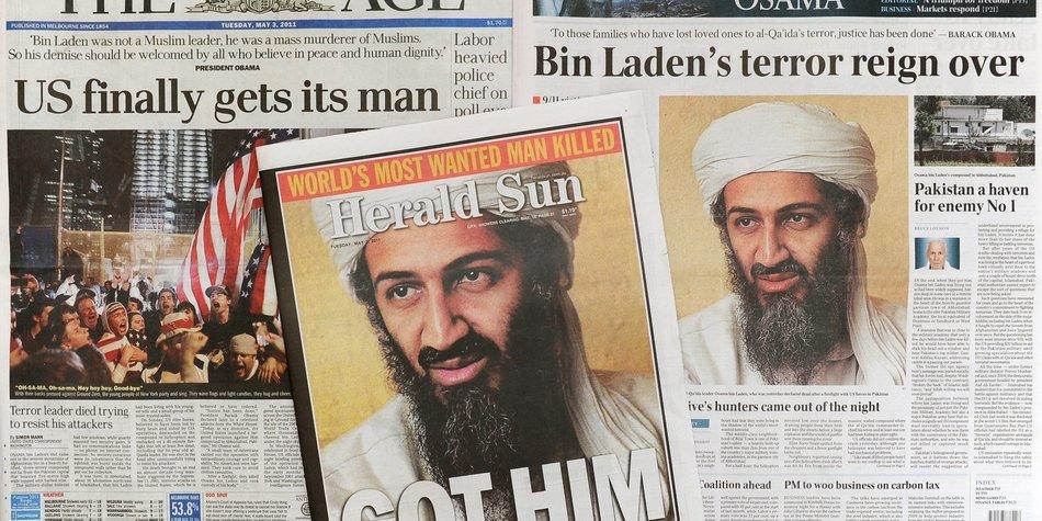 Osama Bin Laden: Seebestattung sorgt für Kritik