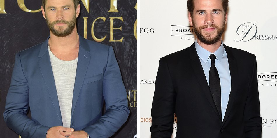 161013_EL-News_Polished-Man_Chris-Hemsworth_Christian-Augustin_Getty-Images_Liam-Hemsworth_Jamie-McCarthy_Getty-Images