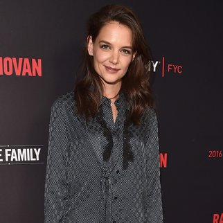 HOLLYWOOD, CA - APRIL 25: Actress Katie Holmes attends the For Your Consideration screening and panel for Showtime's 'Ray Donovan' at Paramount Theatre on April 25, 2016 in Hollywood, California. (Photo by Alberto E. Rodriguez/Getty Images)