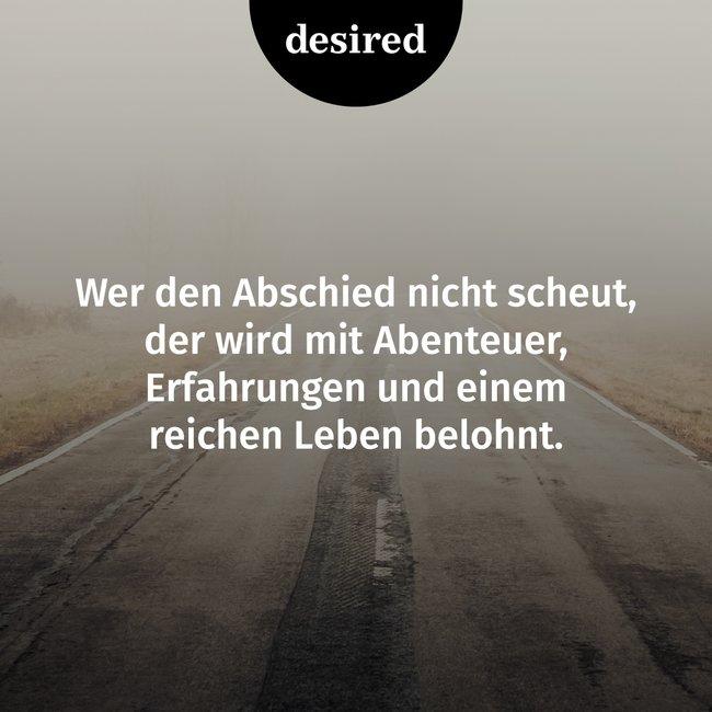 Abschiedsspruche Desired De