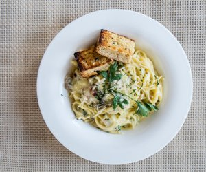 Spaghetti mit Zitronensoße