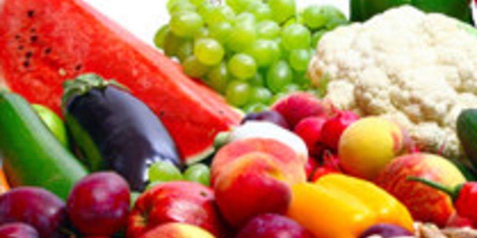 Obst und Gemüse bilden die Grundlage für eine gesunde Ernährung