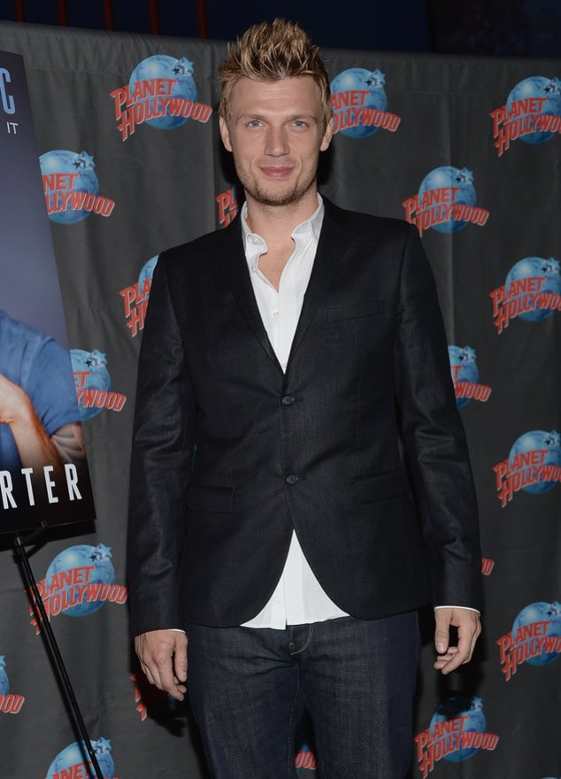 Nick Carter bei einem Event in New York