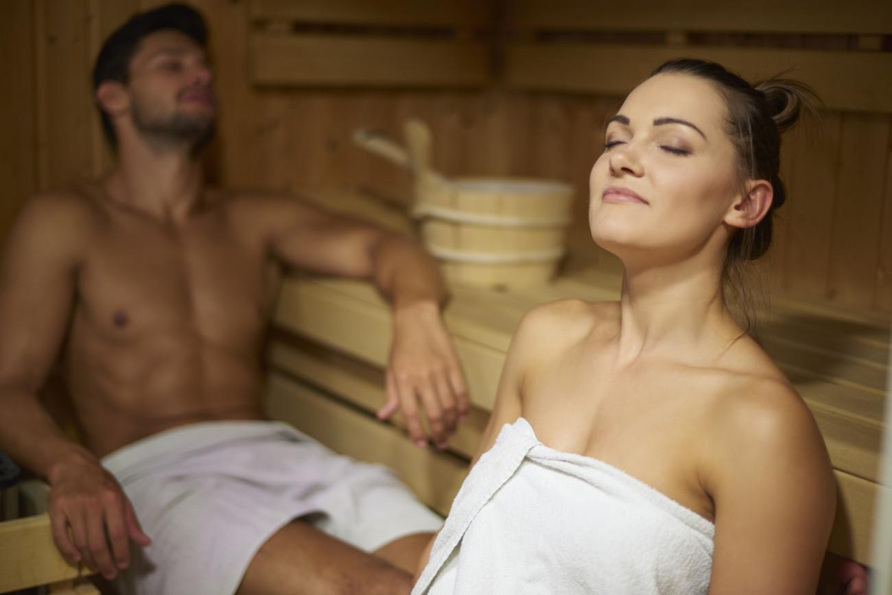 fiken in der sauna
