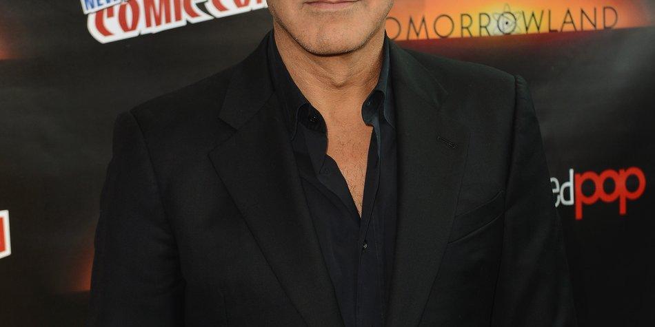 George Clooney: Flitterwochen auf der Comic Con?
