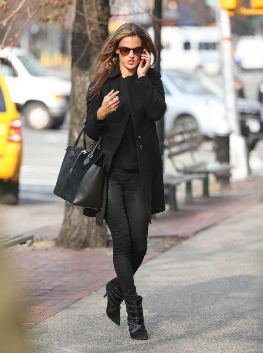 Alessandra Ambrosio in New York