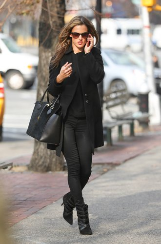 Alessandra Ambrosio in New York