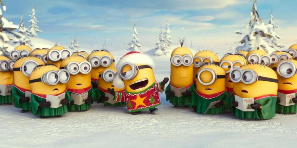 Die Minions wünschen frohe Weihnachten | desired.de