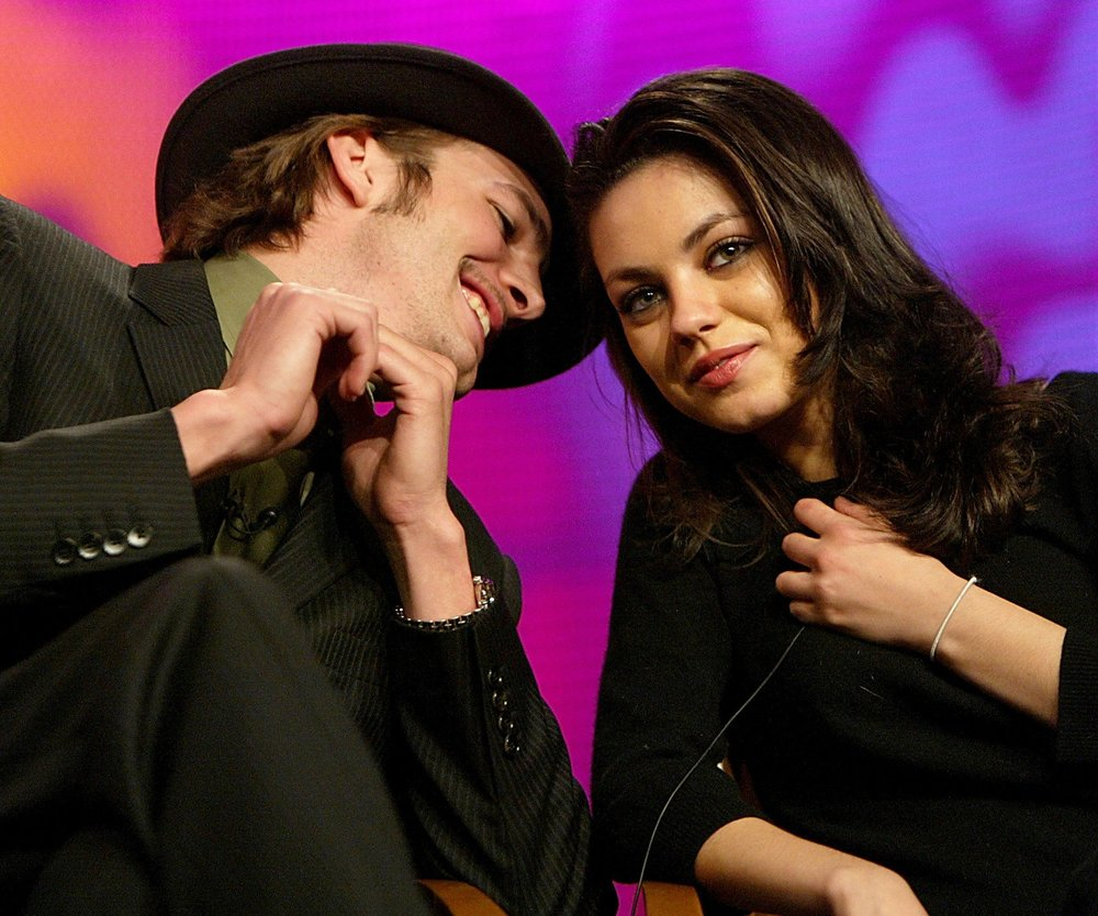 Mila Kunis feiert mit Ashton Kutcher