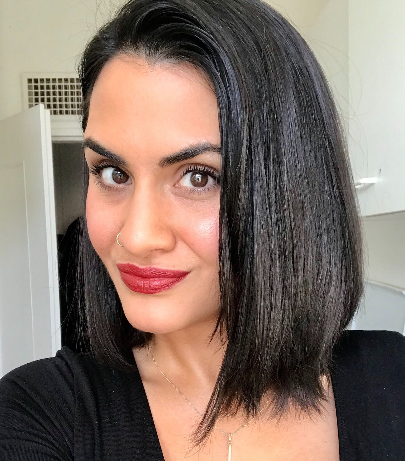 Hair Glossing Ergebnis
