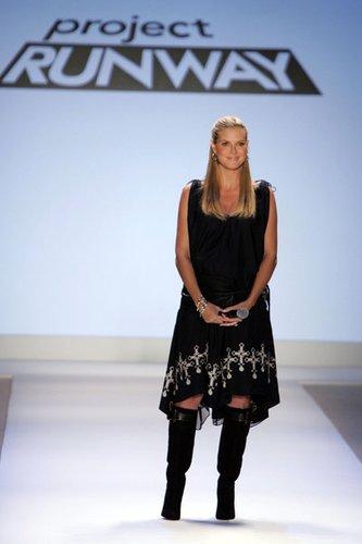 Heidi Klum bei Project Runway