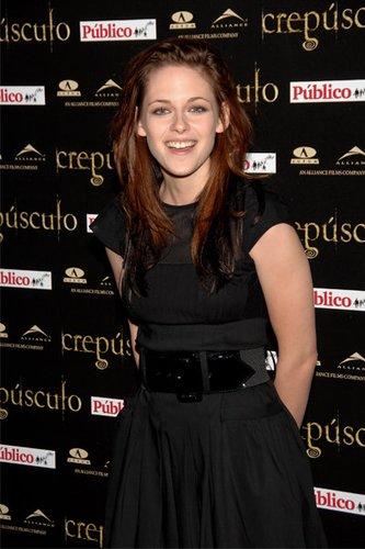 Twilight Star Kristen Stewart auf der Premiere des Films