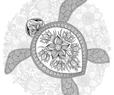 Schildkröte-Tattoo-Vorlagen