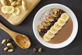 Schokoladige Smoothie Bowl