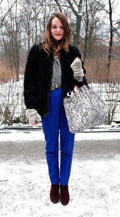 Pernille Hammershoj Madsen mit einem coolen Street Style