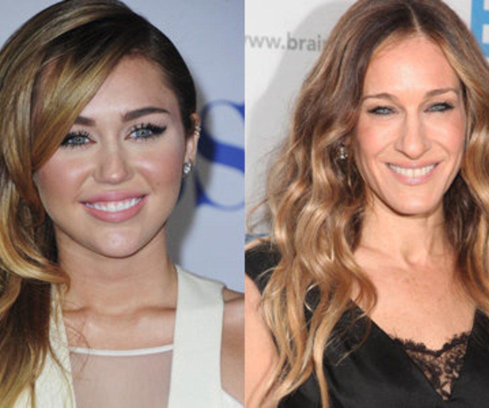 Miley Cyrus als Carrie Bradshaw?
