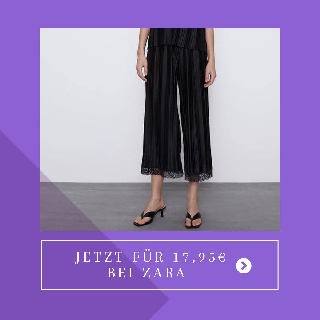 Plisseehose Zara