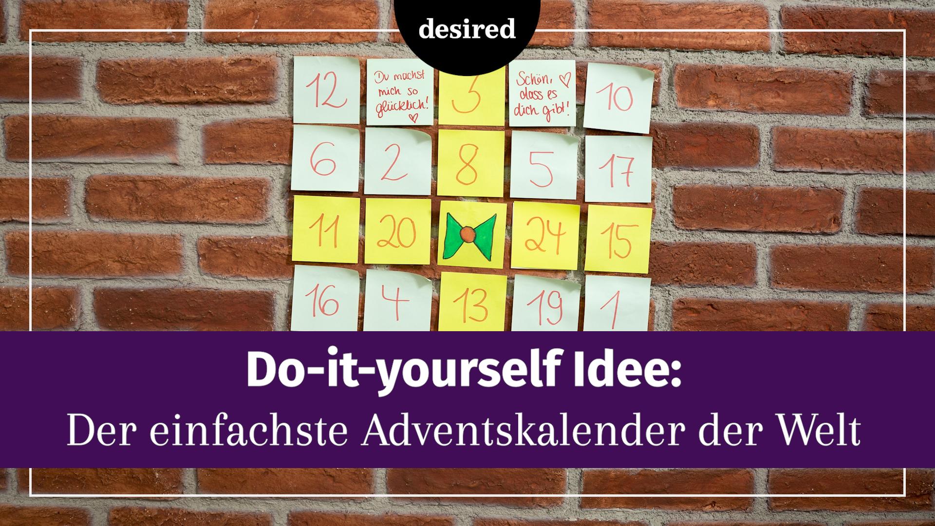 Adventskalender Für Den Freund Geniale Diy Ideen Desiredde