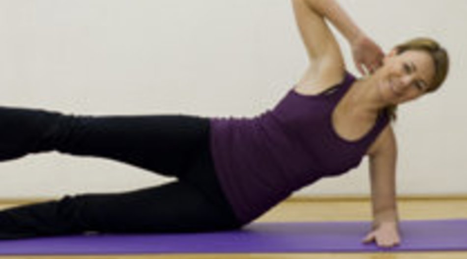 Side Kick Circles trainieren die seitliche Bauchmuskulatur
