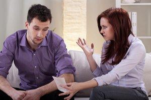 Beziehungskonflikt Geld