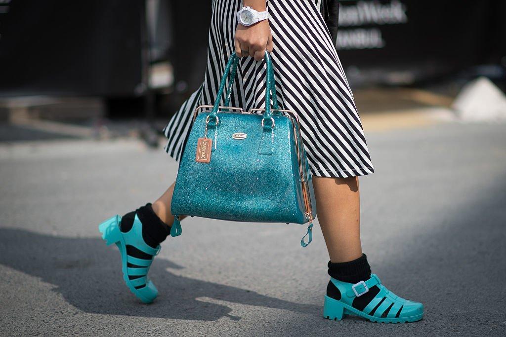 Jelly Schuhe sind wieder im Trend