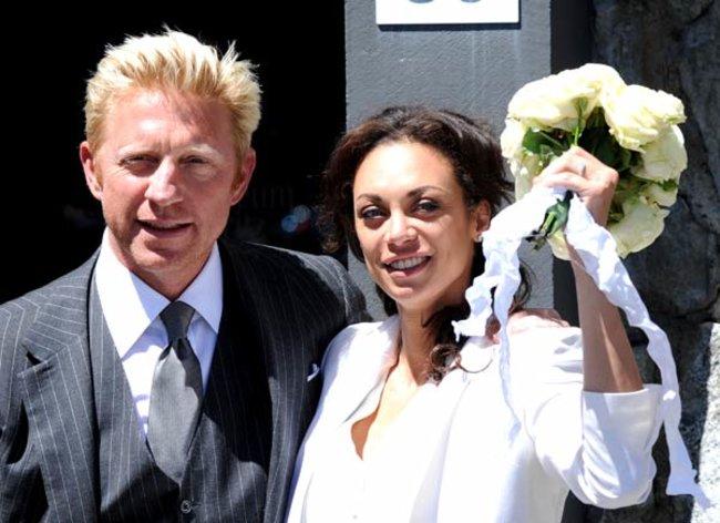 Im Juni 2009 gab Boris Becker in St. Moritz dem niederländischen Model Sharlely