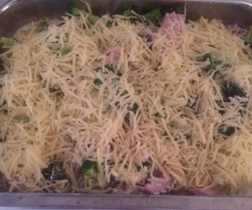 Broccoli Nudelauflauf