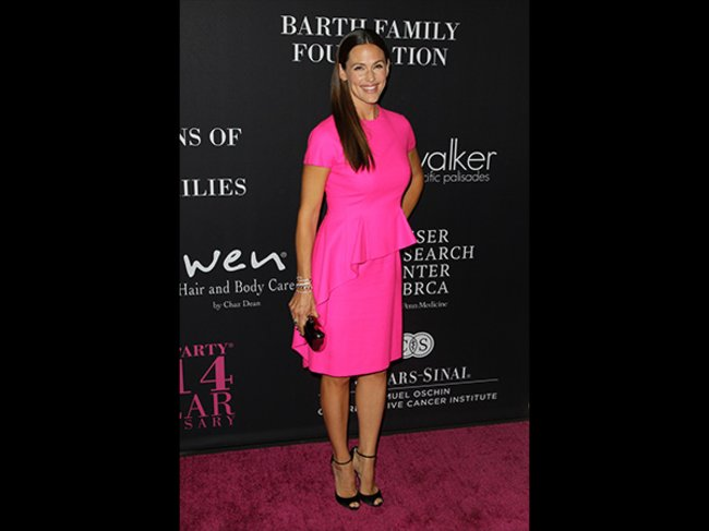 Jennifer Garner Pink Party