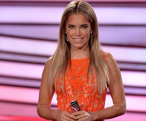 COLOGNE, GERMANY - APRIL 29: Presenter Sylvie Meis poses during the 7th show of the television competition 'Let's Dance' at Coloneum on April 29, 2016 in Cologne, Germany. (Photo by Sascha Steinbach/Getty Images)