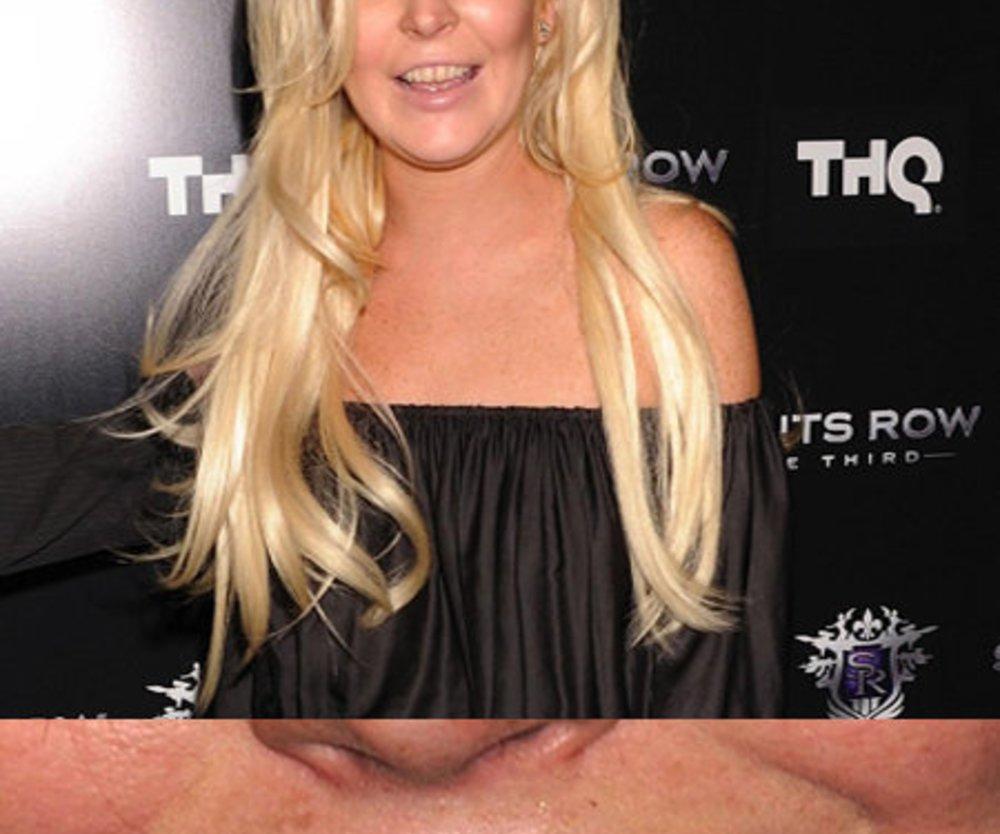 Lindsay Lohan vergisst Zähneputzen?