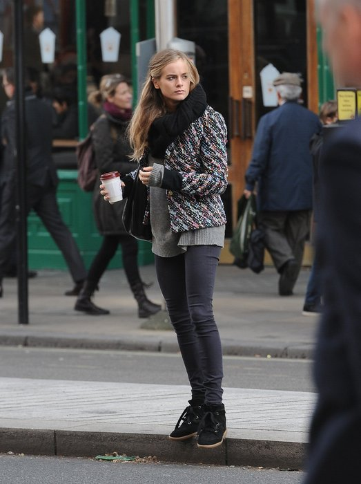 Cressida Bonas in London