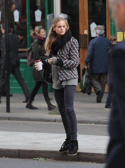 Cressida Bonas in London