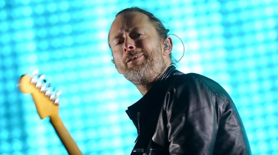Mann mit Charisma: Thom Yorke von Radiohead.