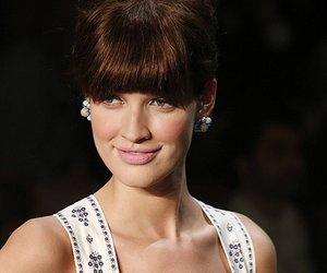 Luise Will bei der Lena Hoschek Fashion Show im rahmen der Mercedes-Benz Fashion Week Berlin.