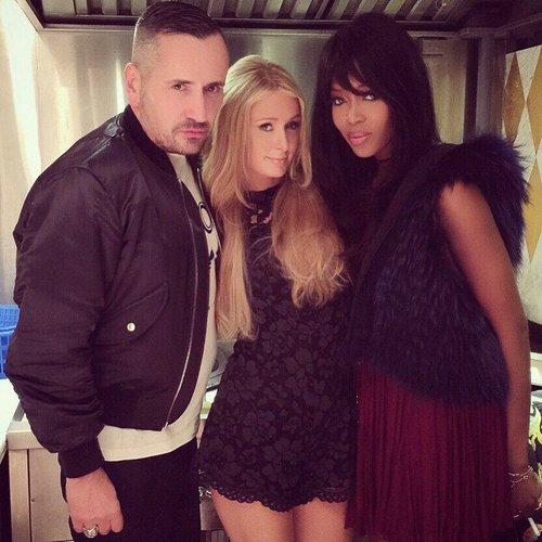 Naomi Campbell macht mit Paris Hilton und Fat Tony Party machen