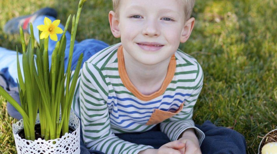 Frühling im Kindergarten