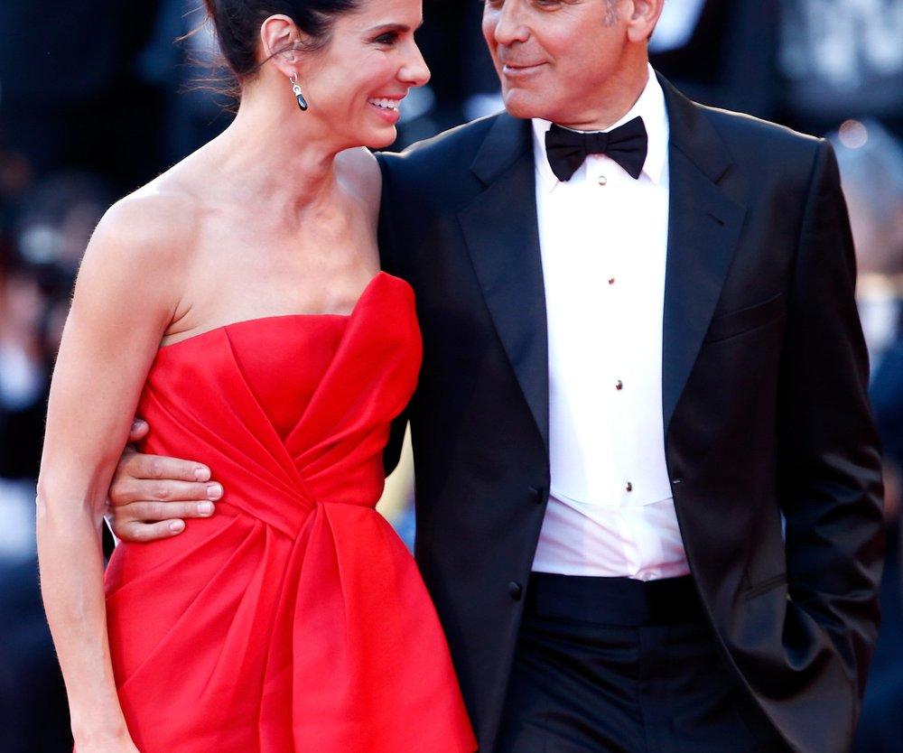 Gravity: George Clooney und Sandra Bullock bleiben an der Spitze