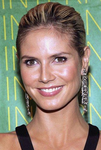 Heidi Klum: Strenger Sleek Look