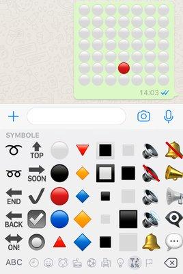 Vier gewinnt WhatsApp