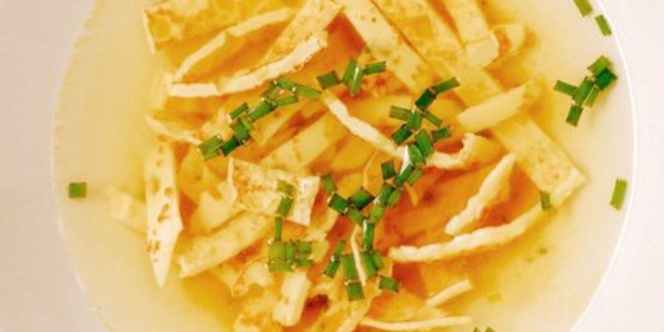 Flädlesuppe vegetarisch