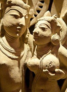 Heilige Tempelfiguren