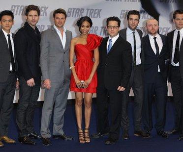 Star Trek Crew bei der Deutschland Premiere in Berlin