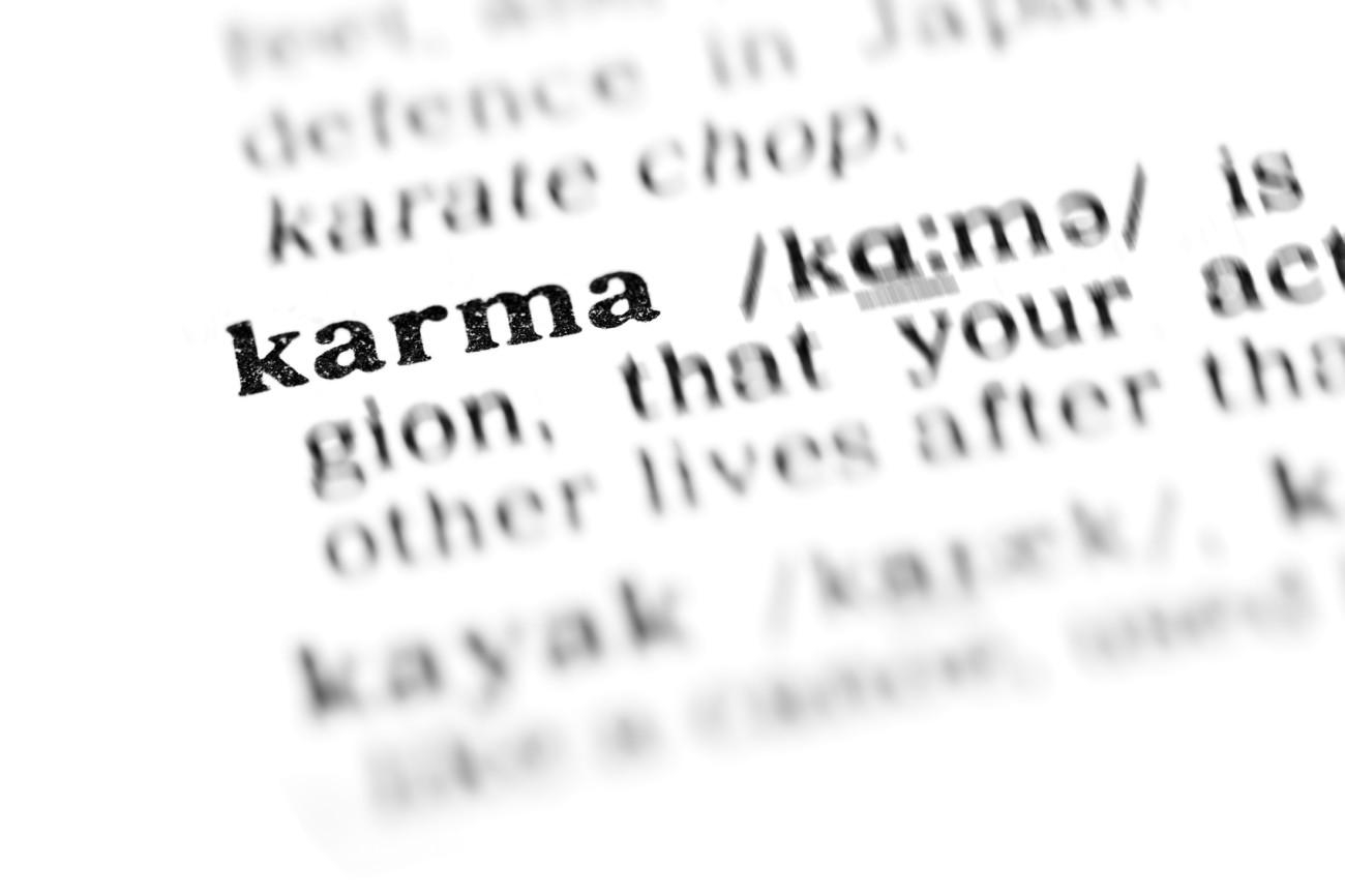 was ist karma? wann ist es schlecht, wann gut? | erdbeerlounge.de