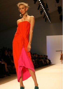 Nanette Lepore auf der Fashion Week