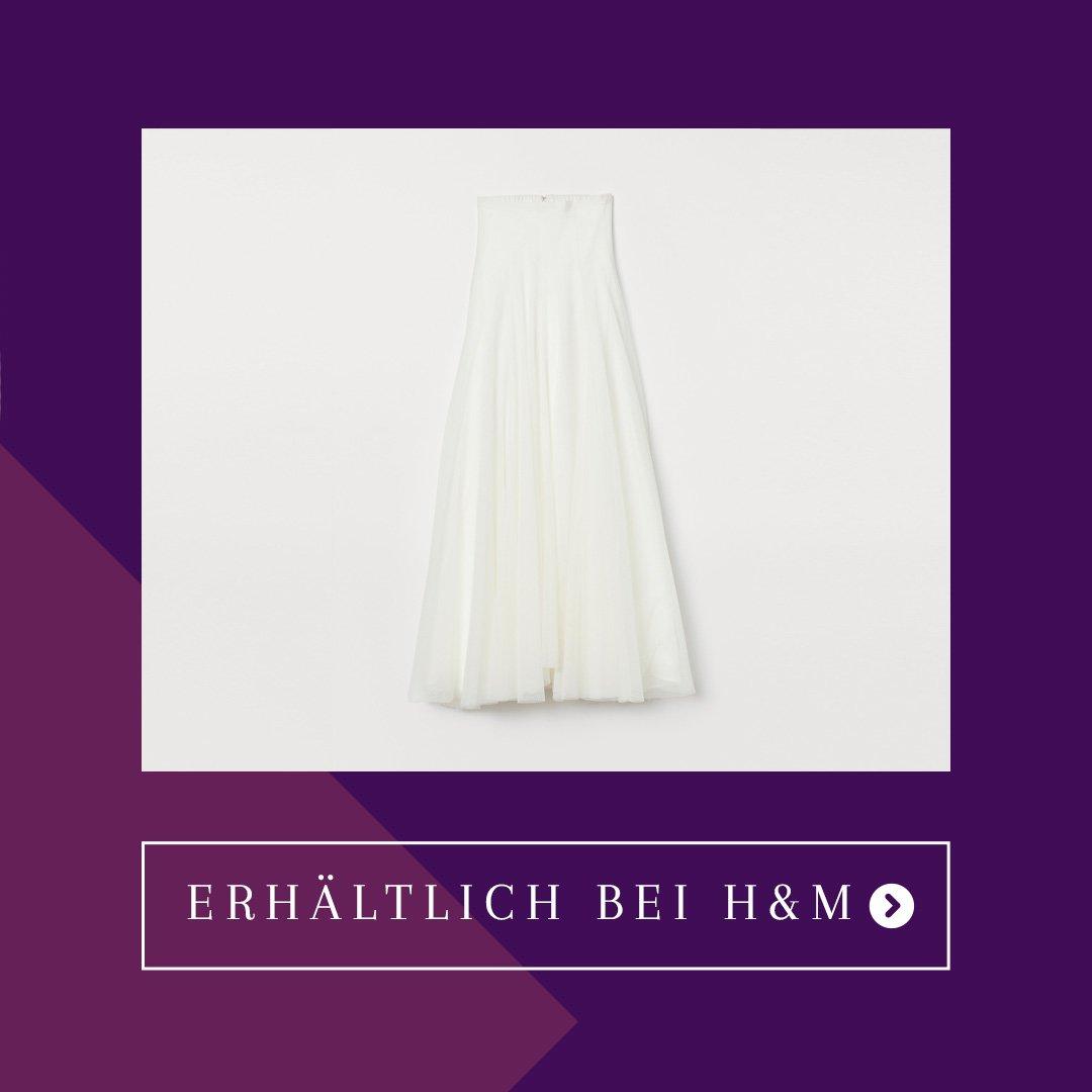 H&M Brautrock Hochzeitsrock