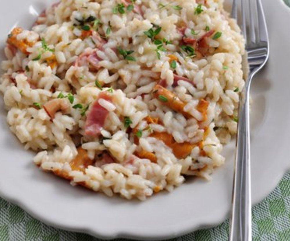 Risotto mit Pfifferlingen