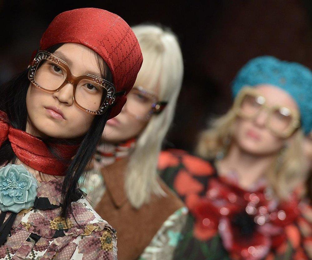 Nerd-Brille Gucci