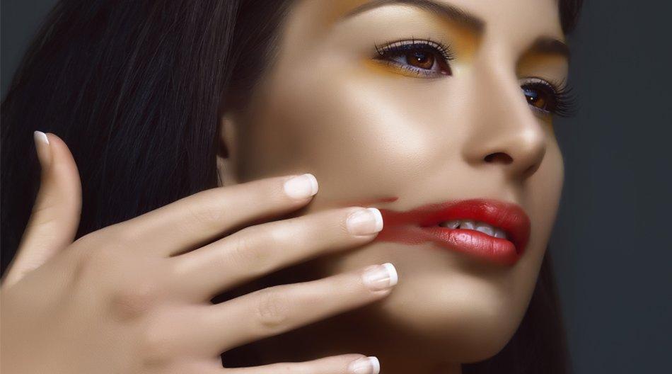 Lippenstift muss nicht verwischen