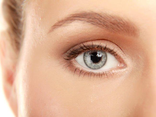 Augenpartie